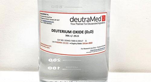 Deuterium Oxide deuterium product services by deutraMed
