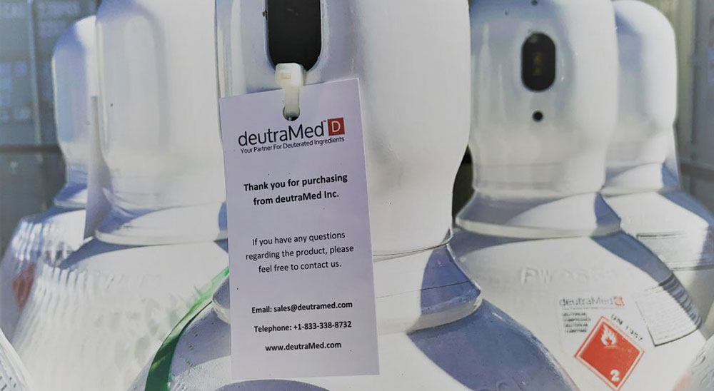 Deuterium Solutions for long term supply by deutraMed